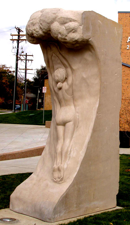 Pool Portal Sculpture