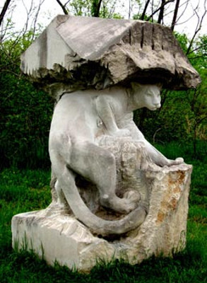 cougar sculpture