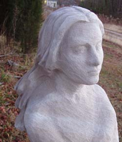 Miss Jessel Sculpture for sale, by Meg White